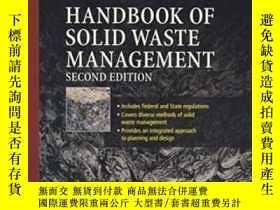 二手書博民逛書店Handbook罕見Of Solid Waste ManagementY307751 Frank Kreith