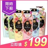 韓國Elastine 奢華香水洗髮精/潤髮乳(600ml) 款式可選【小三美日】$229