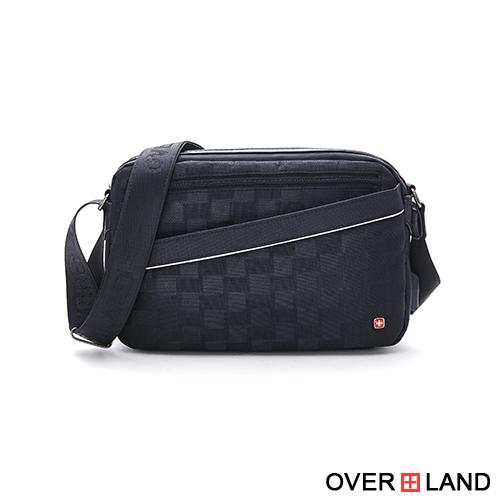 OVERLAND - 美式十字軍 - 格紋造型百搭率性側背包 - 5385