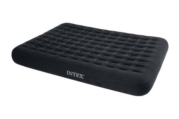 原裝INTEX蜂窩立柱雙人防水植絨充氣床墊氣墊床午休折疊戶外床墊