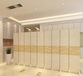 屏風隔斷客廳實木現代簡約酒店辦公室歐式布藝簡易行動可折疊折屏 『向日葵生活館』