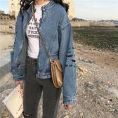 牛仔外套 2019春秋季新款短款牛仔外套女寬鬆學生韓版bf原宿風百搭牛仔衣潮 都市韓衣