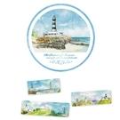 【收藏天地】hibeetle紙膠帶-湛藍海洋 (單捲入/寬2cm/全長10m) 手作 手帳 日記 文創
