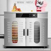 大型橫臥式食品烘干機果蔬藥材干果機肉類臘腸脫水風干機110V YTL LannaS