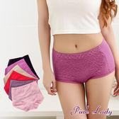 MIT台灣製造 內褲  抑菌防臭 機能內褲 高腰 女生內褲6688 - Pink Lady