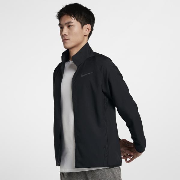 NIKE DRI-FIT 男裝 外套 休閒 舒適 透氣 黑 【運動世界】 928011-013