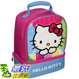 [美國直購] Thermos K34026006 兒童午餐袋 午餐包 Dual Compartment Lunch Kit, Hello Kitty