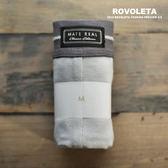 立體剪裁三角褲|淺灰縫線| 30%灰【MR-01】(ROVOLETA)