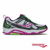 SAUCONY EXCURSION TR10 RUNSHIELD 防潑水戶外越野鞋-灰x黑x紫x綠