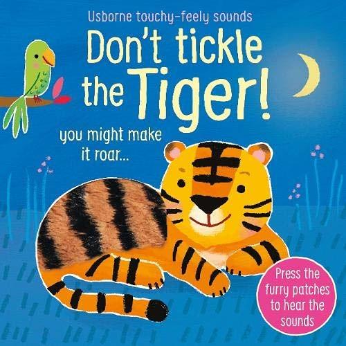 Don't Tickle The Tiger! 別對老虎搔癢!觸摸音效書