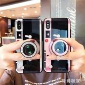 iphonex手機殼 創意復古照相機iphone氣硅膠套 ZB824『美好時光』