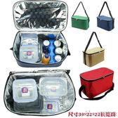 18L大號鋁箔保溫袋加厚戶外冷藏冰袋送餐保溫包小號外賣保溫箱igo 美芭