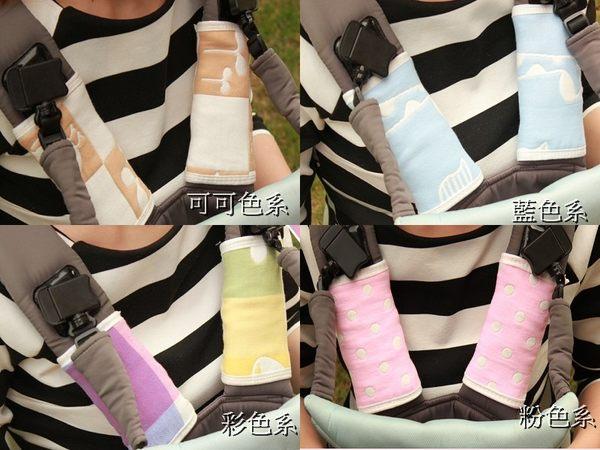 6層純棉紗布口水巾嬰兒背帶口水巾 2入一組 圍兜 背帶保護套