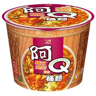 阿Q桶麵 韓式泡菜風味 102g
