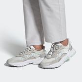 【折後$3780再送贈品】CLASSICK- adidas Ozweego 女鞋 運動 慢跑 老爹 復古 潮流 穿搭 緩震 灰綠 FX3821