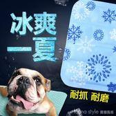 夏季狗狗涼席寵物冰墊凝膠涼墊夏天降溫貓咪狗墊子貓耐咬狗窩睡墊 LannaS YTL
