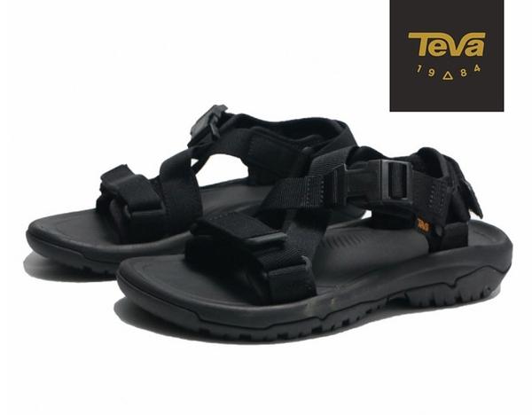 丹大戶外【TEVA】美國 女 HURRICANE VERGE 水陸機能涼鞋 1121535BLK 黑 /忍者/交叉扣