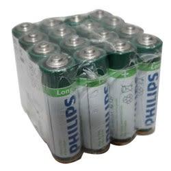 PHILIPS 飛利浦 碳鋅3號電池16入 熱縮