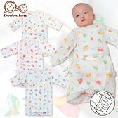 母嬰同室 台灣製DODOE長版護手紗布衣 和尚服 專櫃高支線印花 新生兒 嬰兒服 寶寶內衣