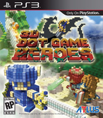 PS3 3D點陣遊戲英雄榜(美版代購)