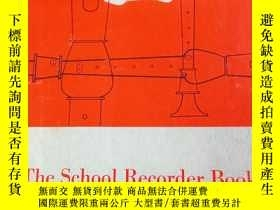 二手書博民逛書店the罕見school recorder book 1-2(2本