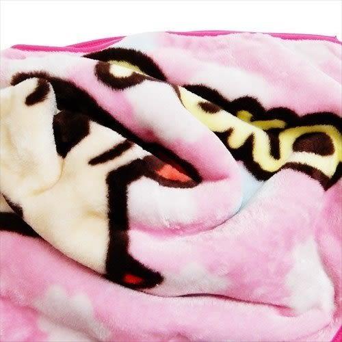 日本不二家牛奶妹毯子毛毯披肩保暖點點大頭658125通販屋