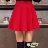 大尺碼女裝半身裙胖MM短版裙子百褶裙A字褲裙水兵舞短裙 【快速出貨】