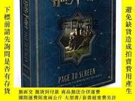 全新書博民逛書店【】Harry Potter Page To ScreenY175576 Bob Mccabe Harper