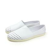 native VERONA 休閒鞋 洞洞鞋 白色 男女款 11101800-1950 no471