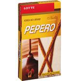 樂天PEPERO巧克力棒50g【愛買】