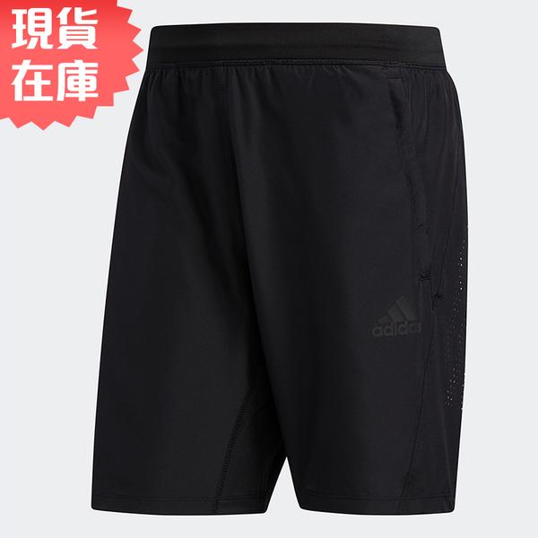 【現貨】ADIDAS 3-STRIPES 8-INCH 男裝 短褲 慢跑 訓練 吸濕 乾爽 黑【運動世界】FM2146