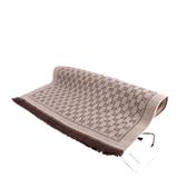 【GUCCI】GG LOGO羊毛圍巾(茶色) 411115 3G200 9764