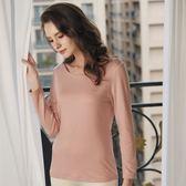 華歌爾-極衣恆溫M-LL輕薄款長袖保暖衣(粉)保暖柔暖LT298118-ME