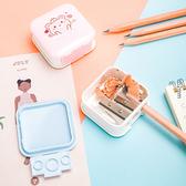 ✭慢思行✭【Q280】音響造型削鉛筆器 學生 文具 辦公室 書寫 繪畫 兒童 旋轉 眉筆 工具