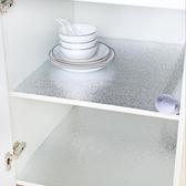鋁箔貼 櫥櫃衣櫃內貼紙防潮防霉 自粘防水防油墊抽屜櫃子上60cm加厚鋁箔 快速出貨免運