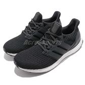 adidas 慢跑鞋 Ultra Boost 4.0 黑 白 運動鞋 頂級緩震舒適 黑白 運動鞋 男鞋【ACS】 BB6166