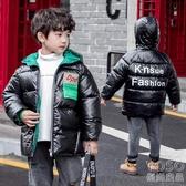 兒童羽絨服 反季童裝兒童羽絨棉服男童中大童洋氣棉衣寶寶冬裝加厚棉襖外套 快速出貨