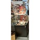 展示玻璃櫃 {二手品}須自取不提供配送(物品在台北市)