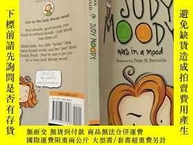 二手書博民逛書店Judy罕見Moody was in a Mood:朱迪·穆迪心情很好Y200392