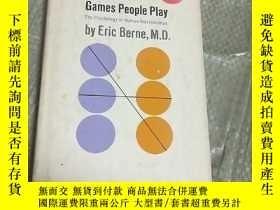 二手書博民逛書店The罕見psychology of Human RelationshipsY16184 ERIC BERNE