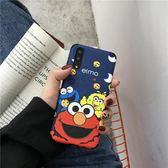 Xiaomi手機殼 卡通芝麻街小米8手機殼浮雕硅膠 莎拉嘿幼