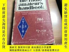 二手書博民逛書店the罕見radio amateur s handbook 無線