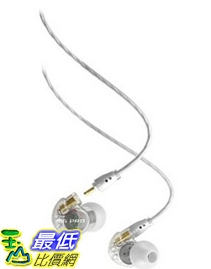 [美國直購] MEE audio M6 PRO 透明白 耳機 Universal-Fit Noise-Isolating Musician s In-Ear Monitors with Detachable Cables