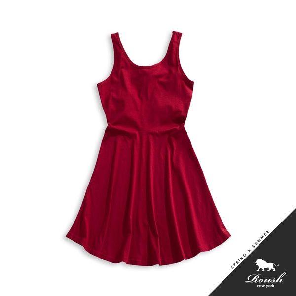 【Roush】女生腰身版棉質洋裝 - 【715076】