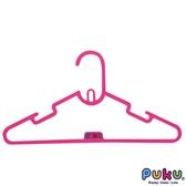 PUKU 藍色企鵝-彩虹糖衣架6入-粉紅/二色可選 大樹