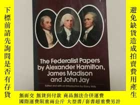 二手書博民逛書店英文原版《The罕見Federalist Papers by A