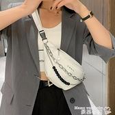 胸包 上新女士小包包2021新款潮時尚韓版百搭ins斜背胸包流行網紅腰包  曼慕