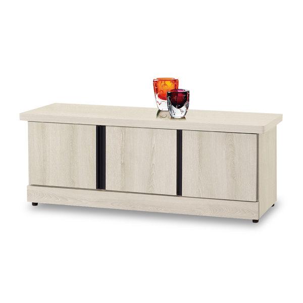 鞋櫃【時尚屋】[5U7]白栓木工業4尺座鞋櫃5U7-506-05免運費/免組裝/鞋櫃