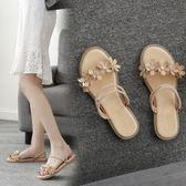 一鞋兩穿度假平底涼鞋沙灘鞋波西米亞仙女鞋