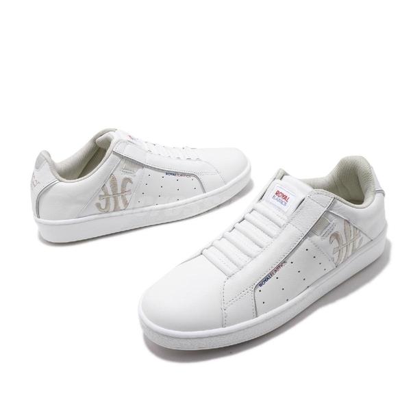 Royal Elastics 休閒鞋 Genesis 白 銀 女鞋 運動鞋 【ACS】 91902008